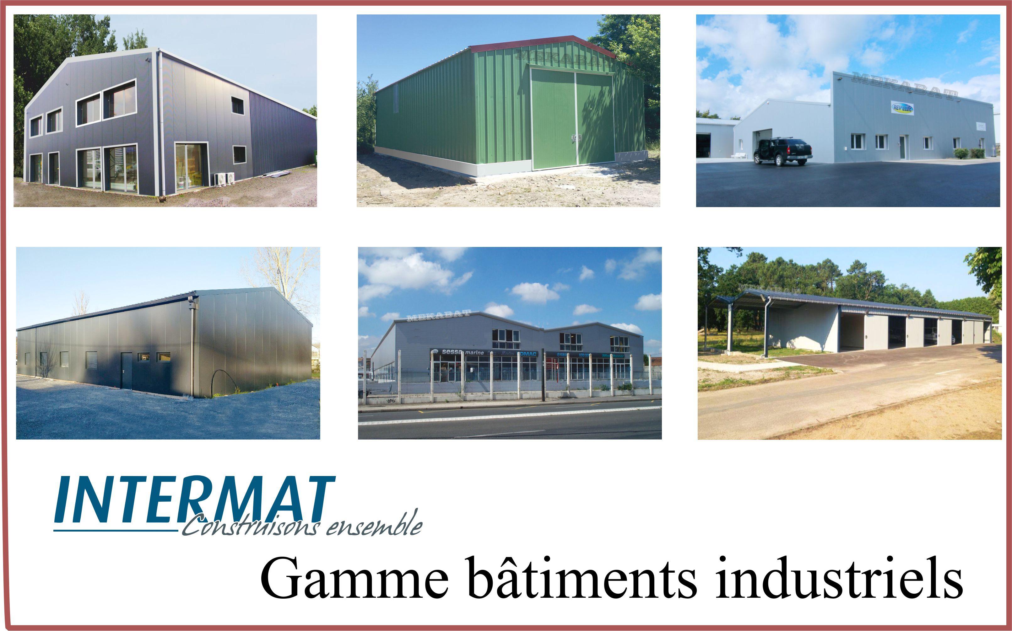 bâtiments métalliques industriels