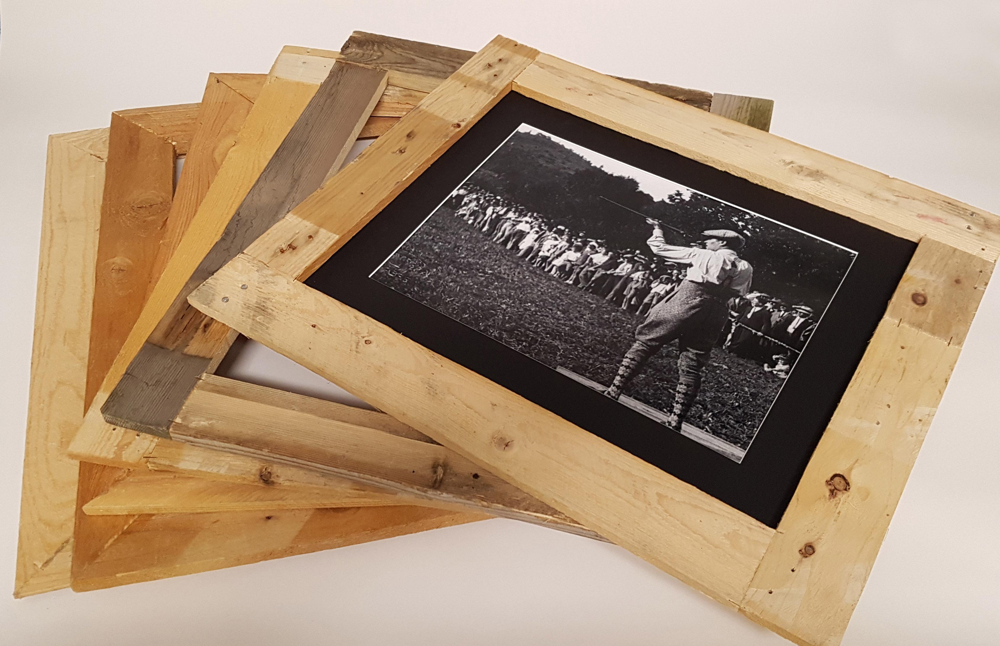 Cornice legno artigianale 39x49