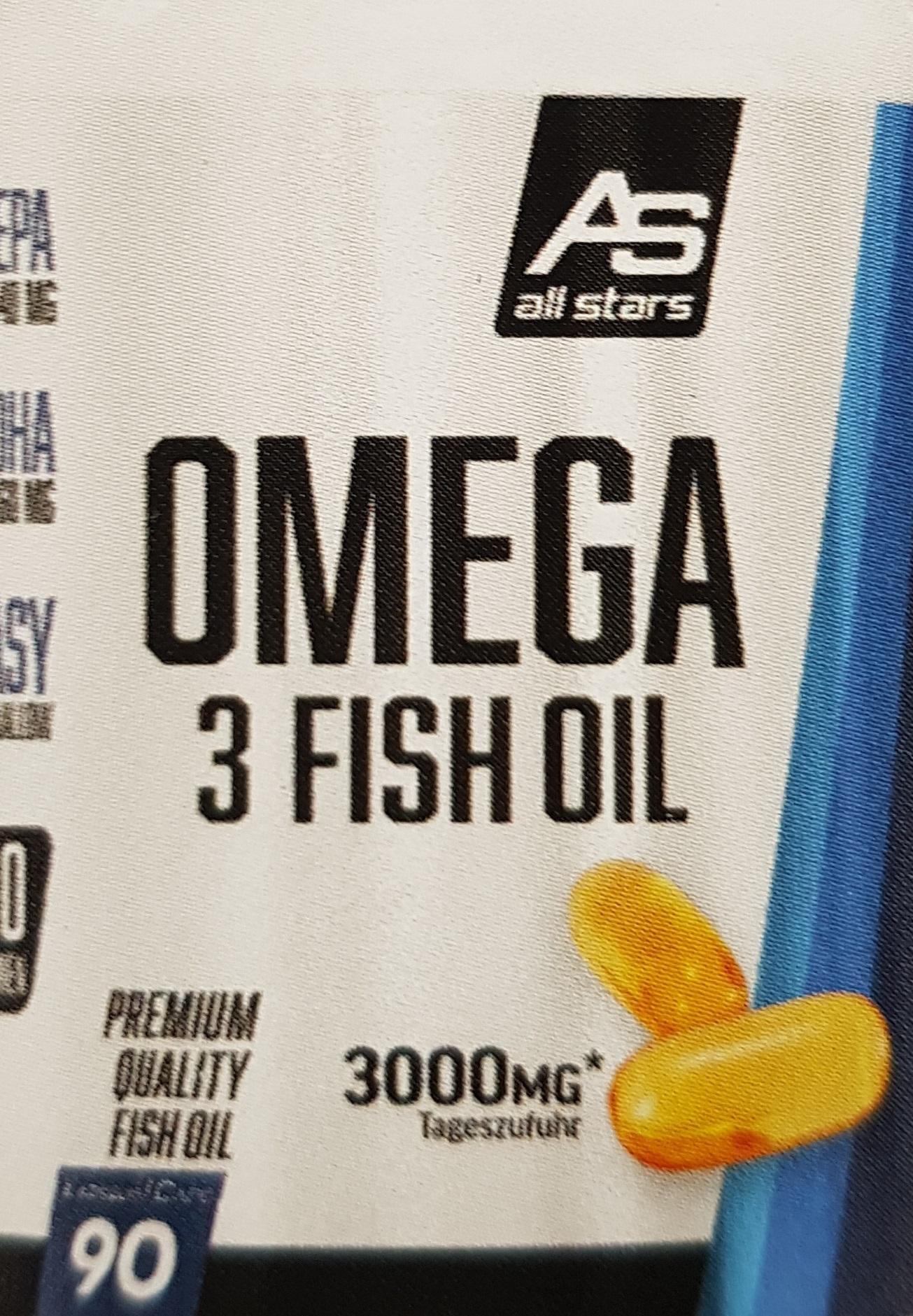 Omega- 3 Fish Oil ( 90 Kapseln)