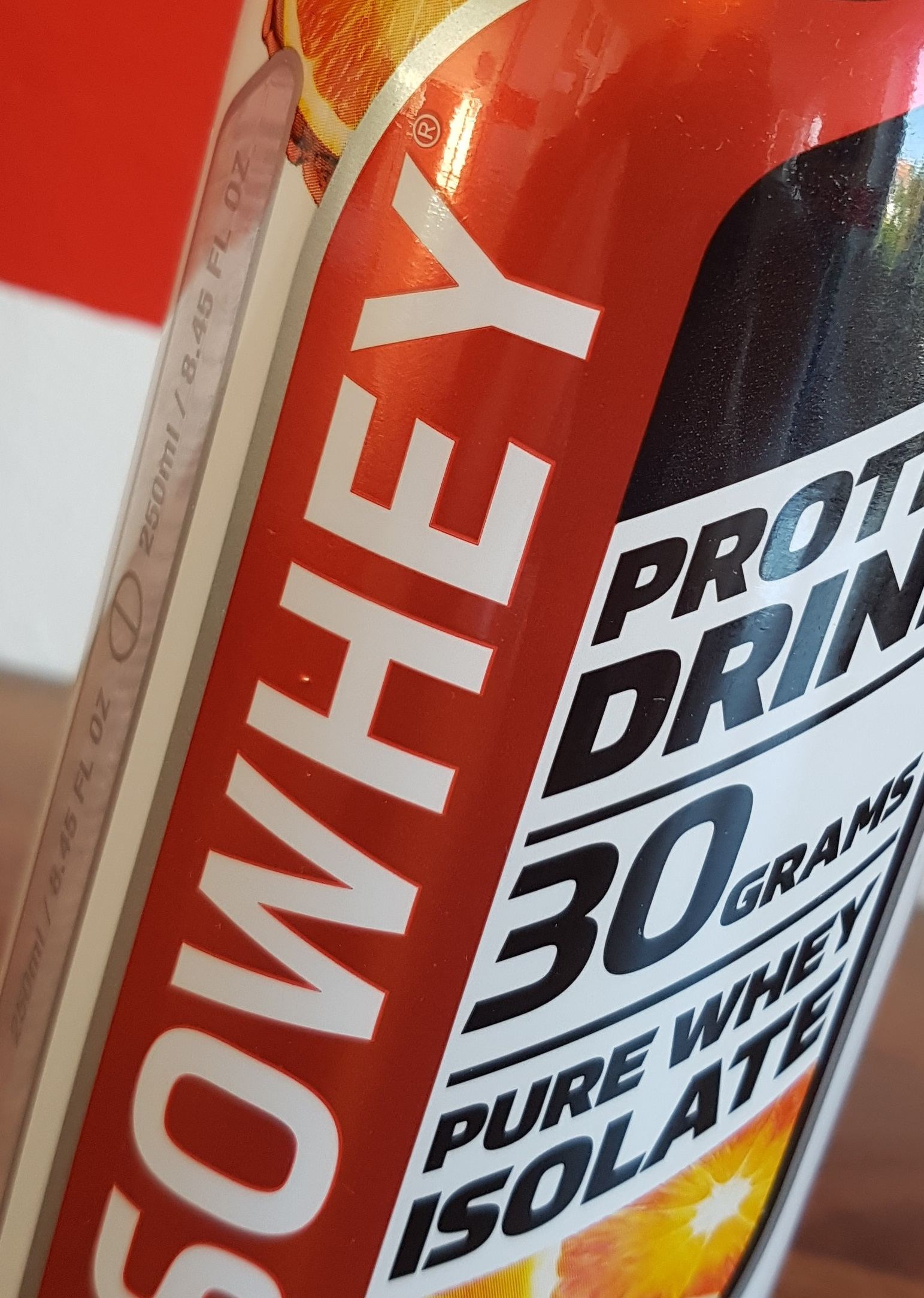 1 Kiste Iso Whey (500 ml Flasche) - 16 Stück