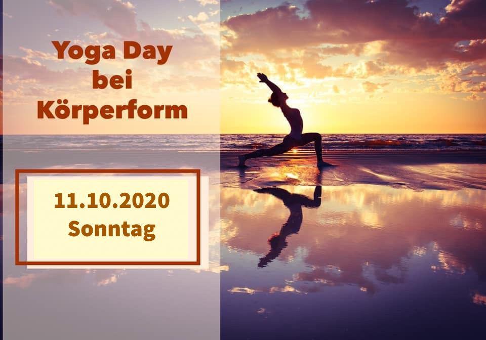 Yoga Day bei Körperform