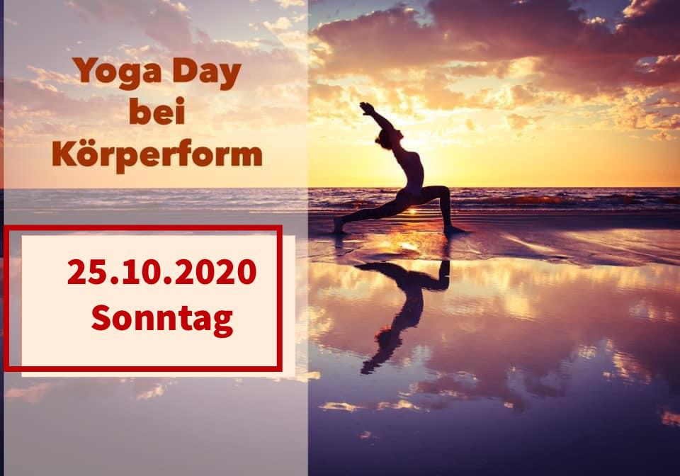 Yoga Day bei Körperform