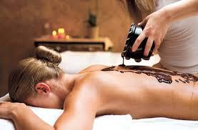 Schokoladen Massage