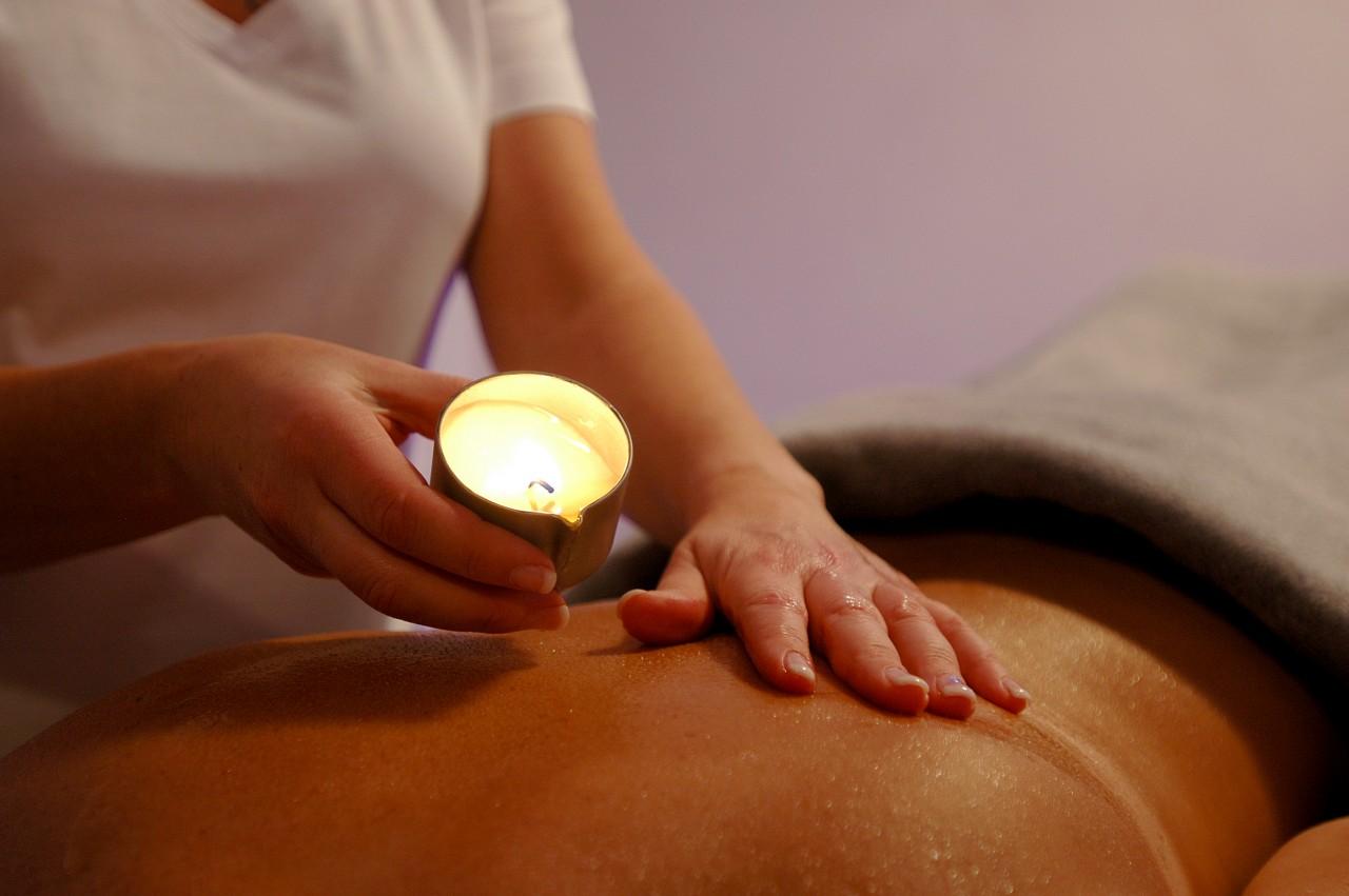Aroma Öl Kerzen Massage