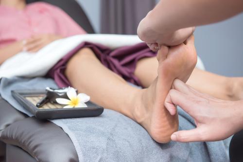 Zen Thai Nuad -. trad. Thai Fußmassage