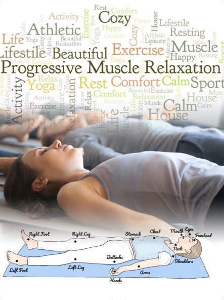 Moderne Progressive Muskelrelaxation