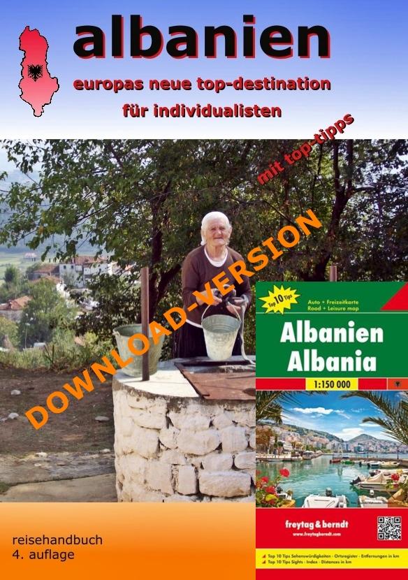 Albanien Reisehandbuch - PDF-Download mit Karte