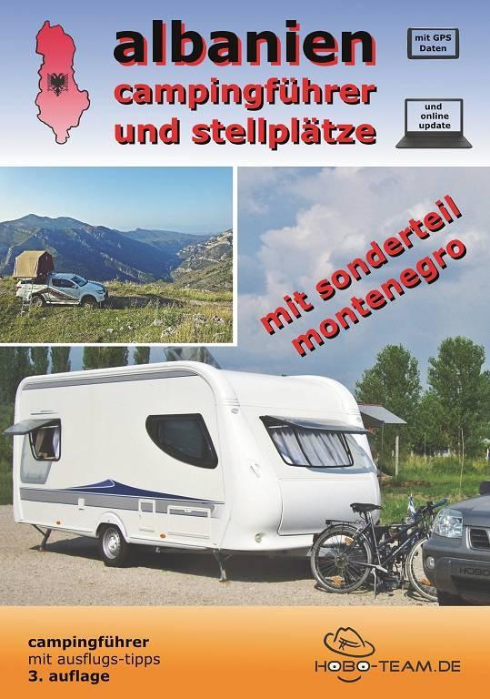 Albanien Campingführer - Broschüre AUSVERKAUFT !!!! nur noch als PDF!!!!
