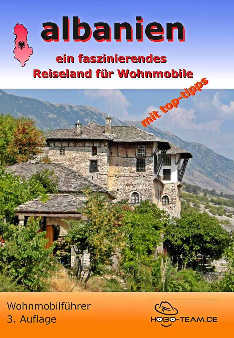 Albanien Wohnmobilführer - ISBN: 978-3-0005319-1-0