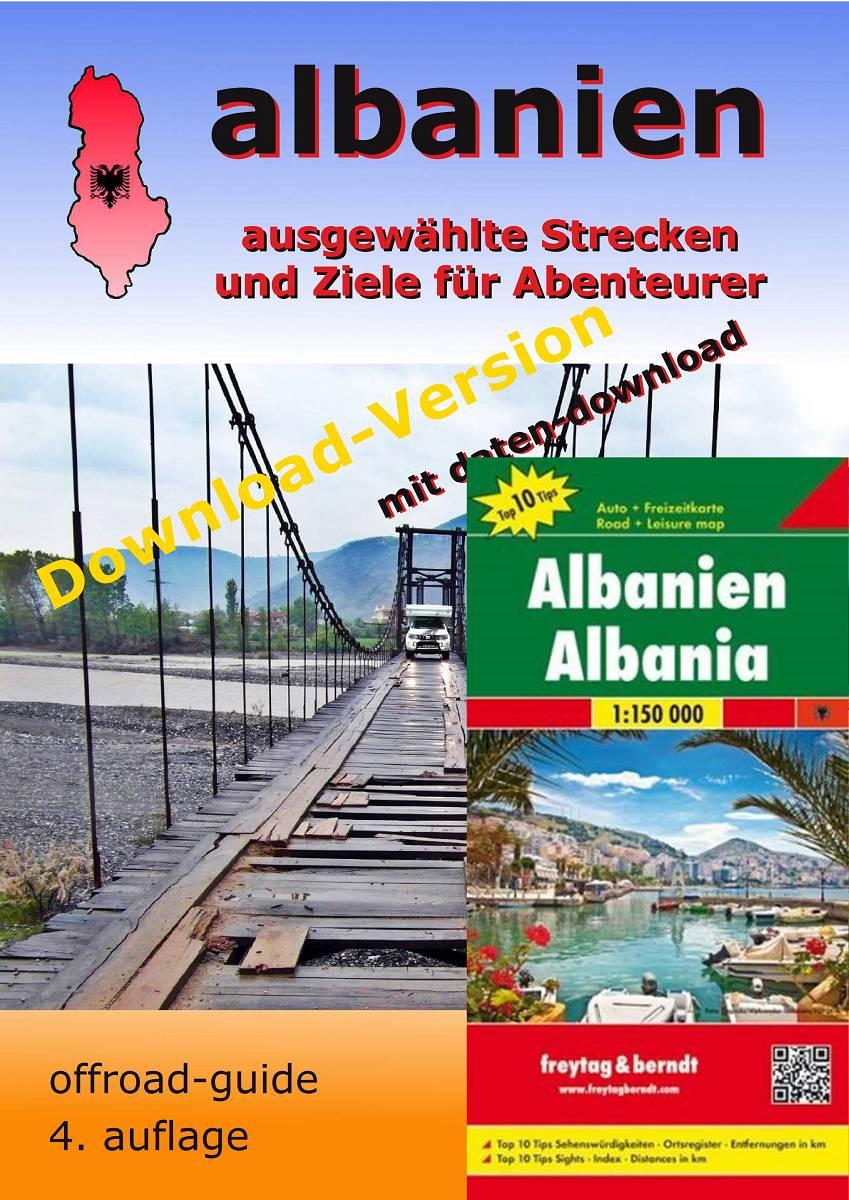 "Albanien ""offroad-guide"" PDF-Download-Version mit Landkarte"