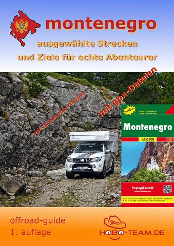 Montenegro offroad-guide PDF-Download mit Landkarte