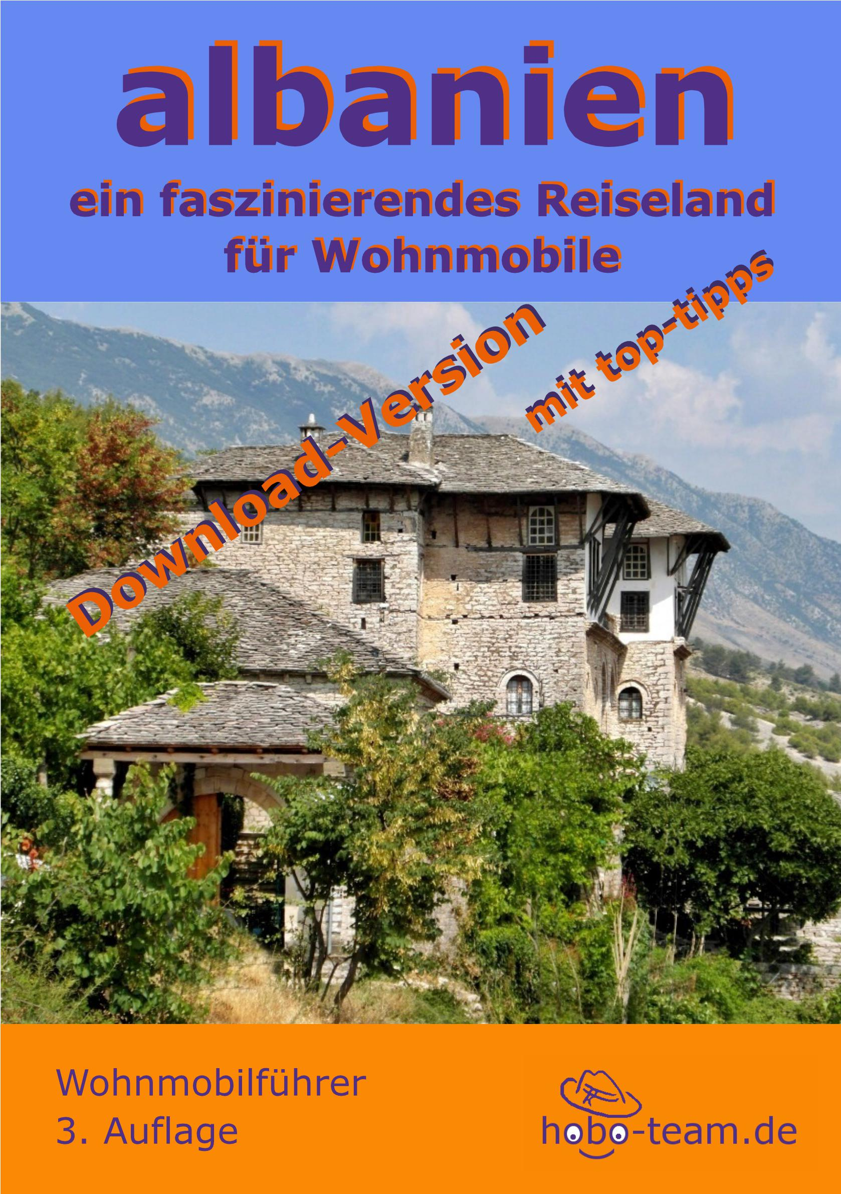 Albanien Wohnmobilführer - PDF-Download-Version