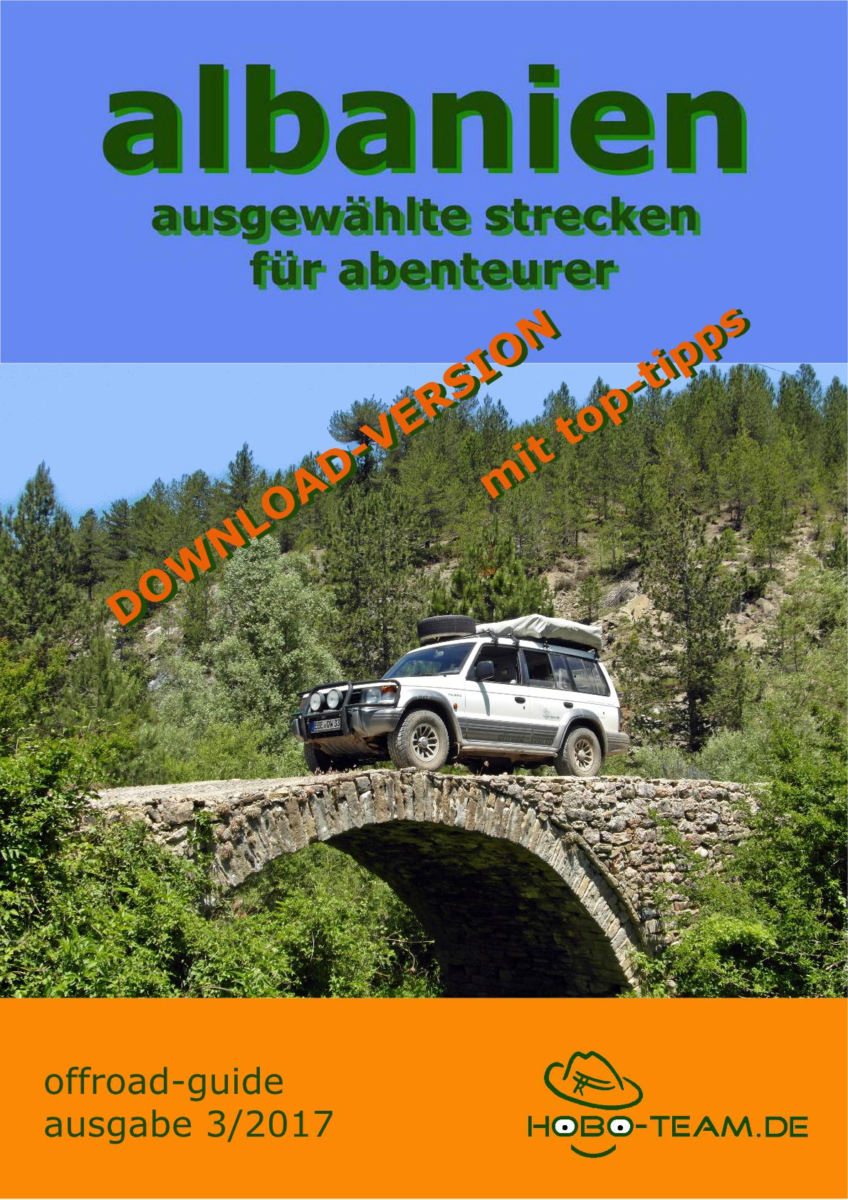 "Albanien ""offroad-guide"" PDF-Download-Version"