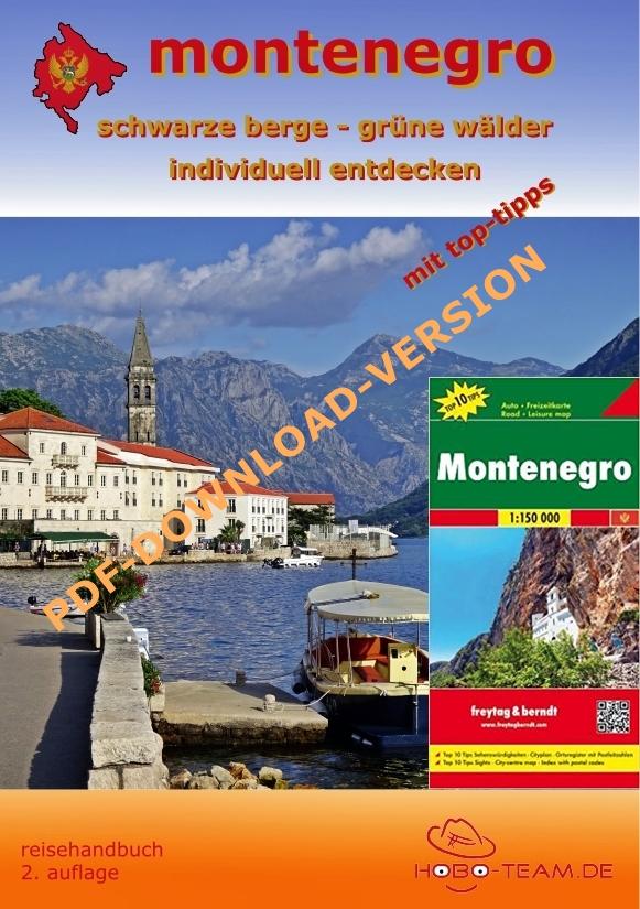 Montenegro Reisehandbuch - PDF-Download mit Karte