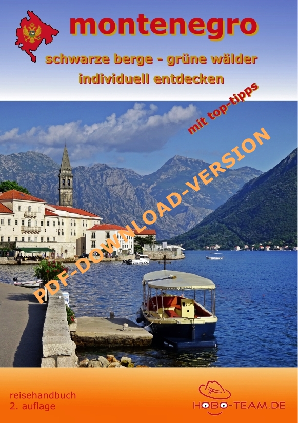 Montenegro Reisehandbuch - PDF-Downloadversion