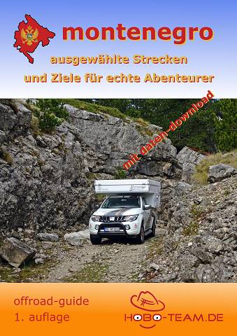 "Montenegro ""offroad-guide"" - ISBN: 978-3-9819273-6-8"
