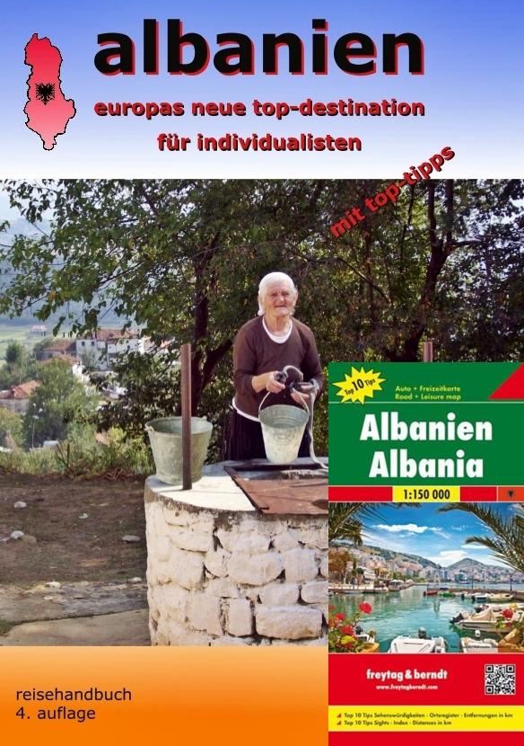 Albanien Reisehandbuch - Taschenbuch mit Karte