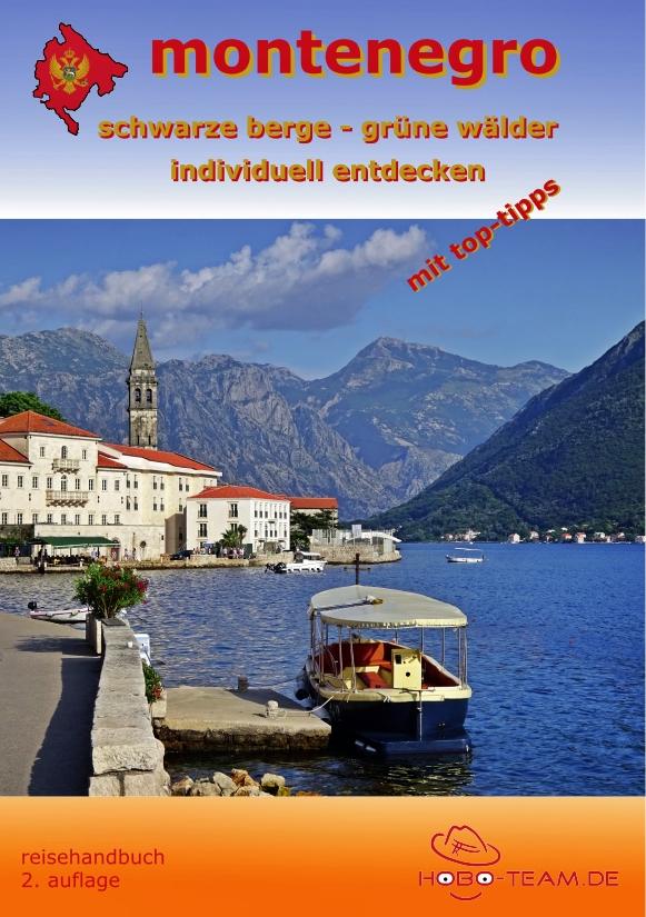 """Montenegro """"Reisehandbuch"""" - ISBN: 978-3-9819273-7-5"""