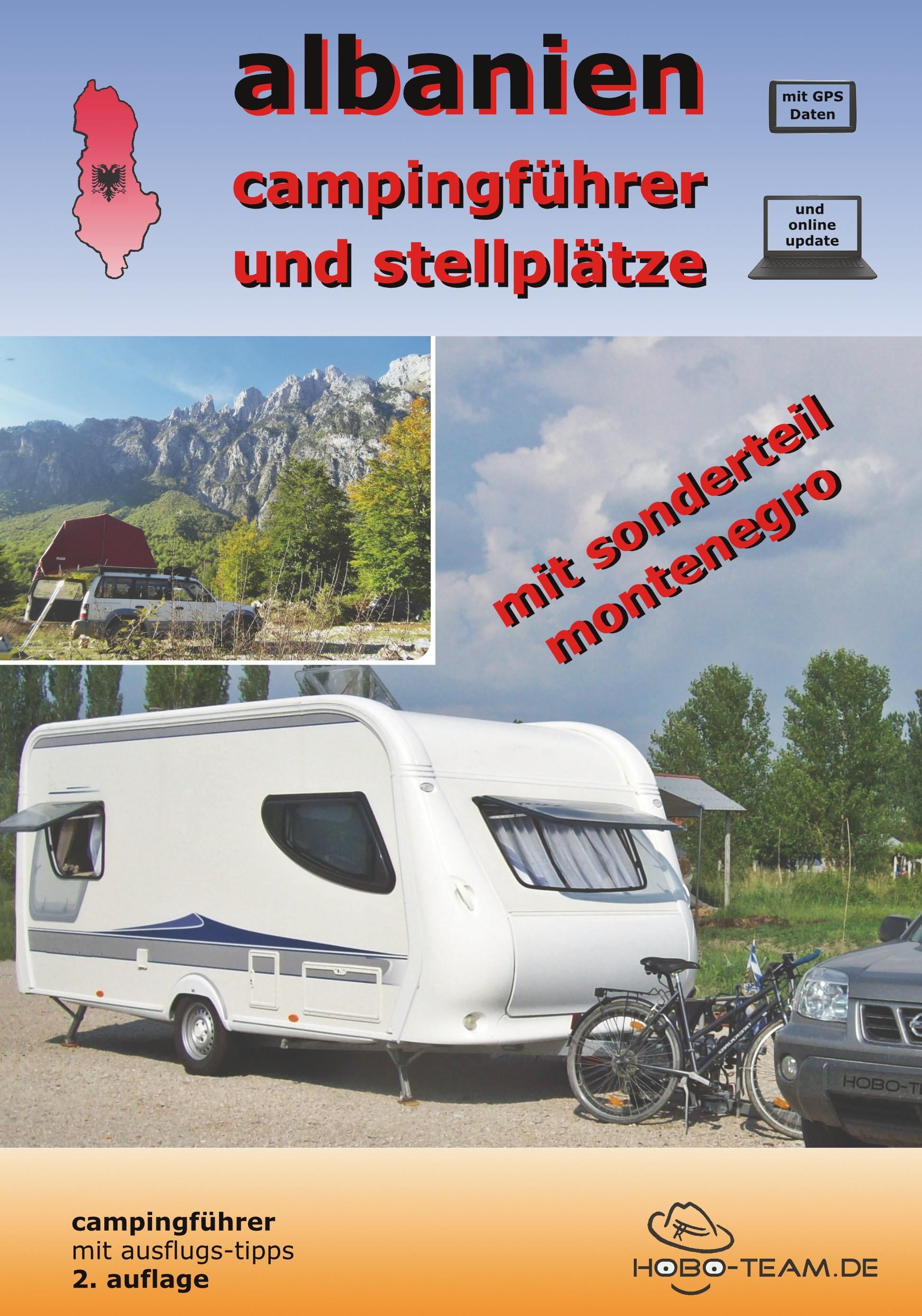 Albanien Campingführer PDF-Version