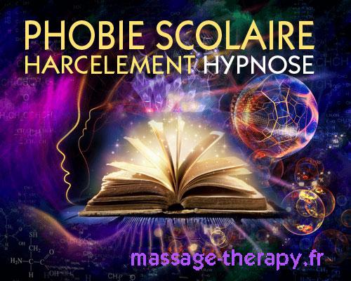 Hypnose Phobie scolaire / échec / harcèlement