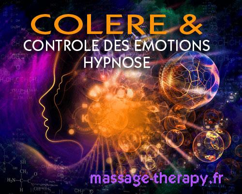 Hypnose Colère / contrôle des émotions