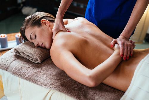 Massage dos et lombaires 45 mn