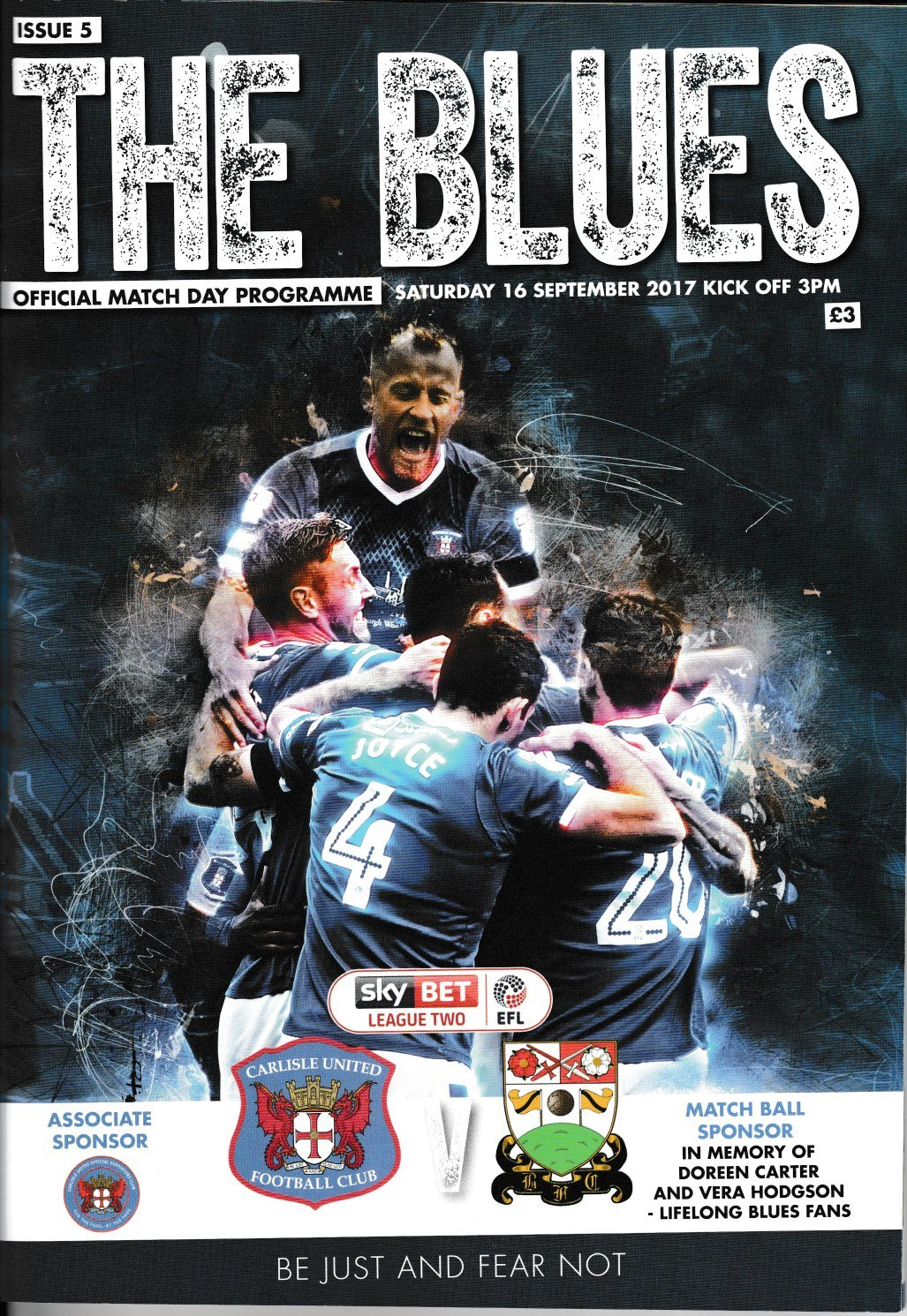 Carlisle United V Barnet