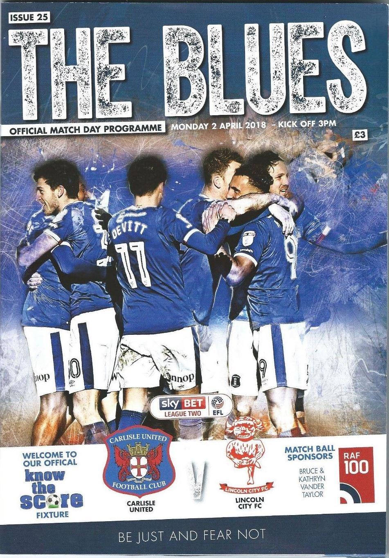 Carlisle United V Lincoln City