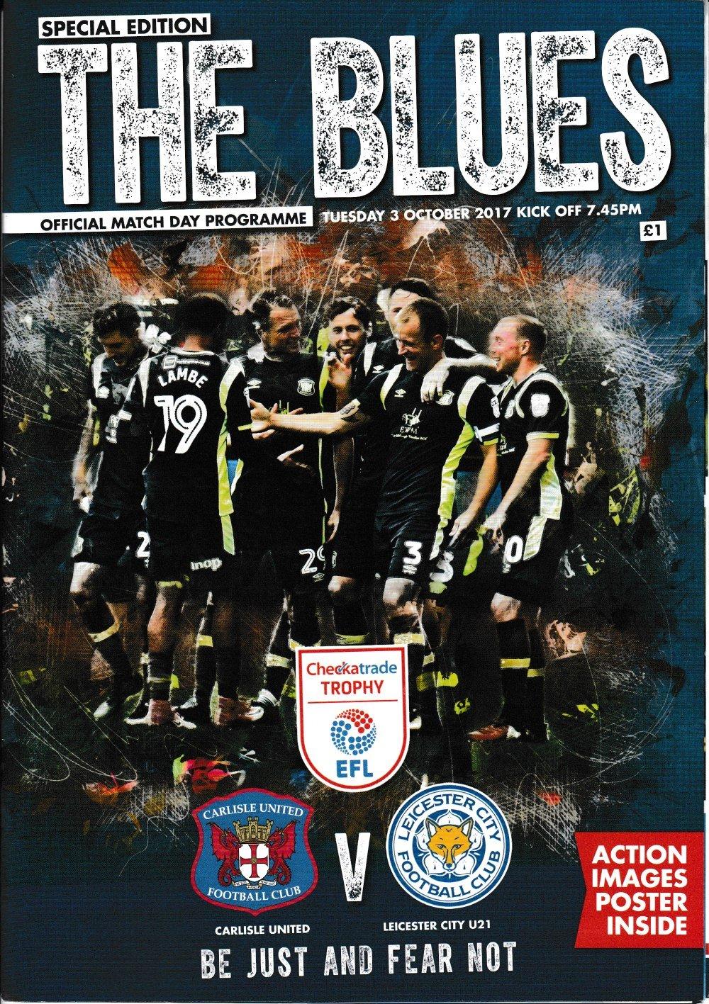 Carlisle United V Leicester U21