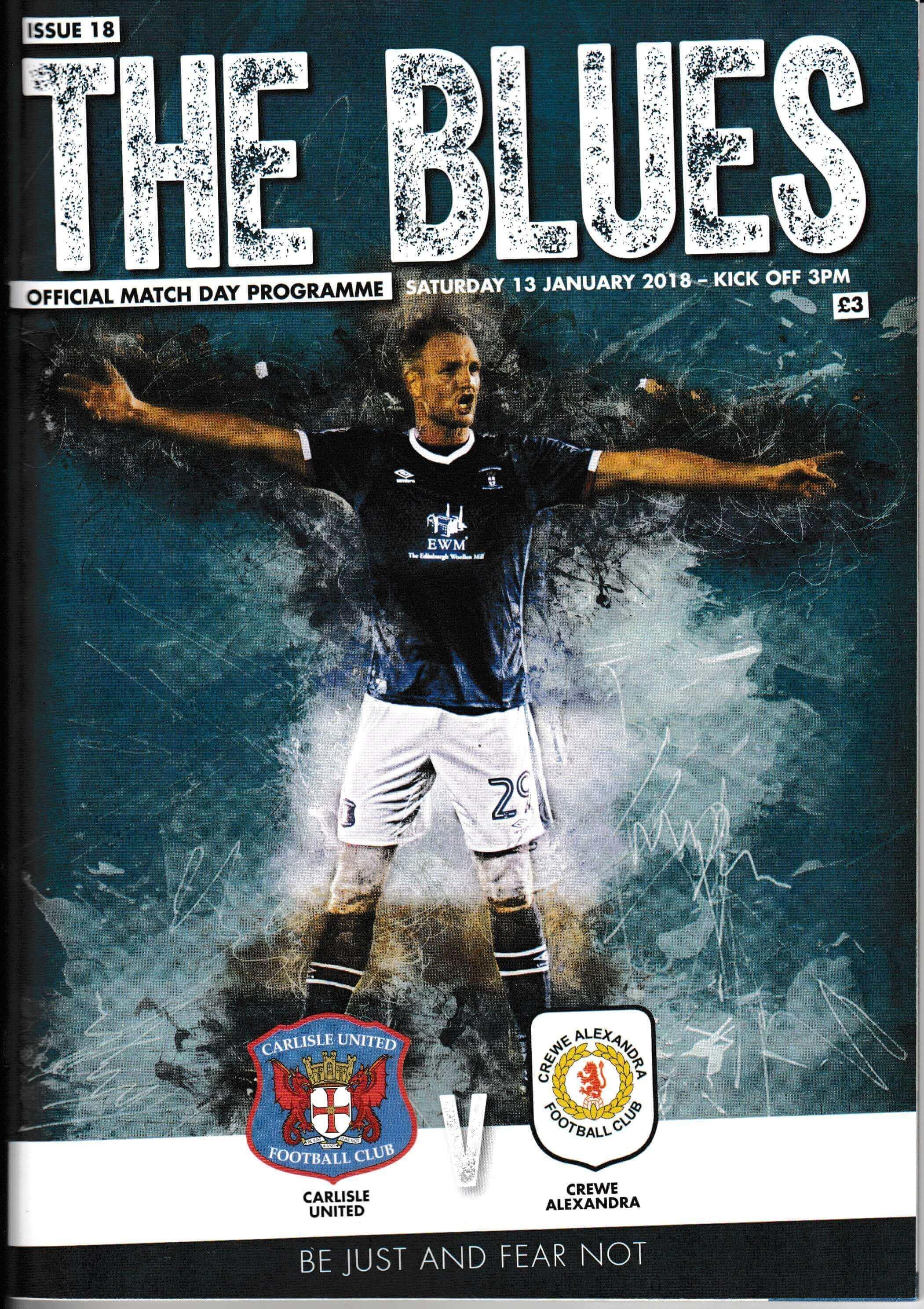 Carlisle United V Crewe Alex