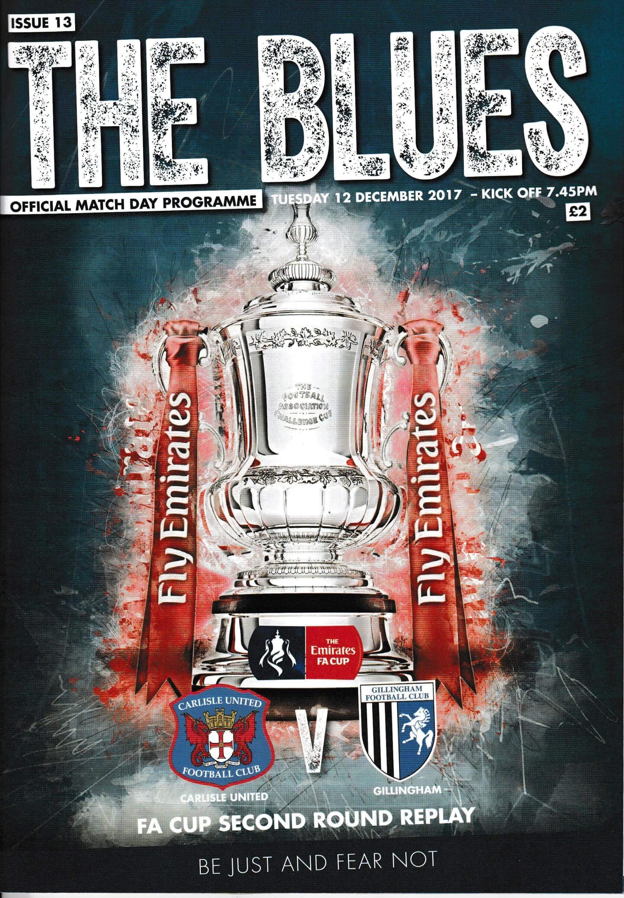 Carlisle United V Gillingham