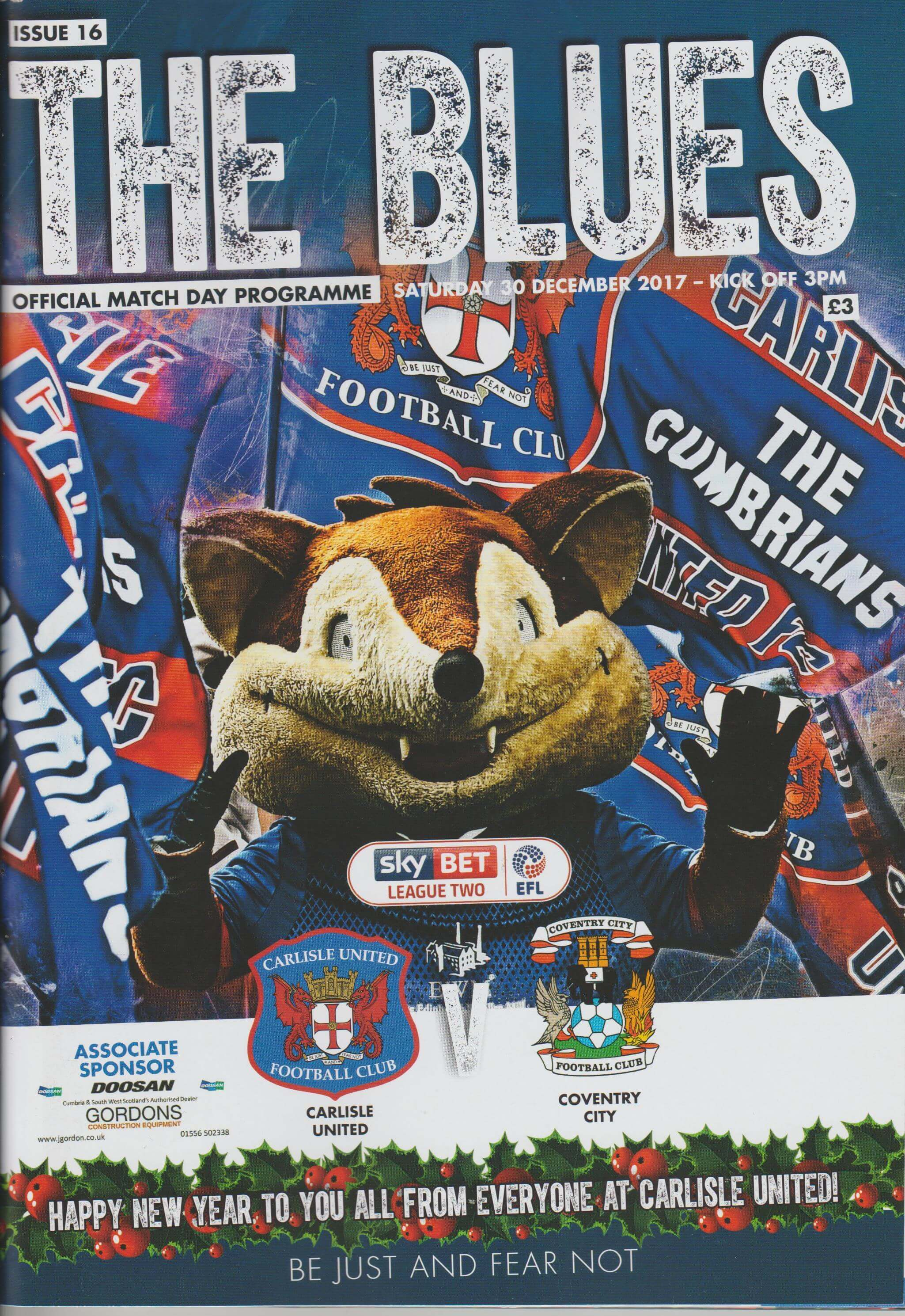 Carlisle United V Coventry City