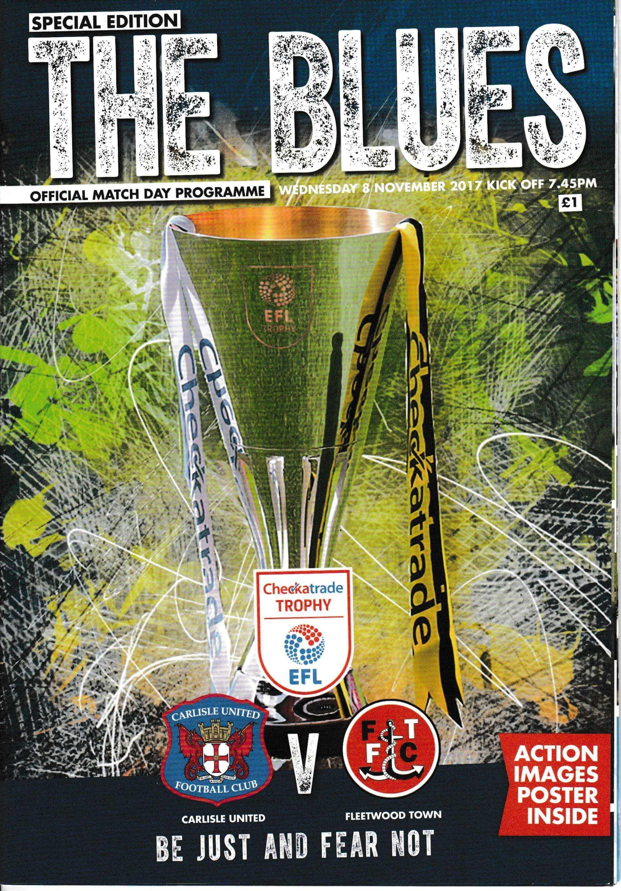 Carlisle United V Fleetwood Town
