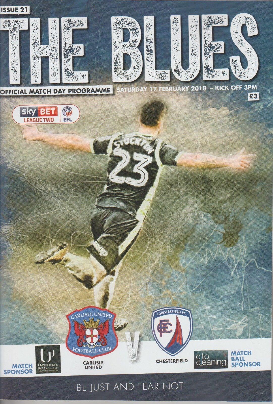 Carlisle United V Chesterfield