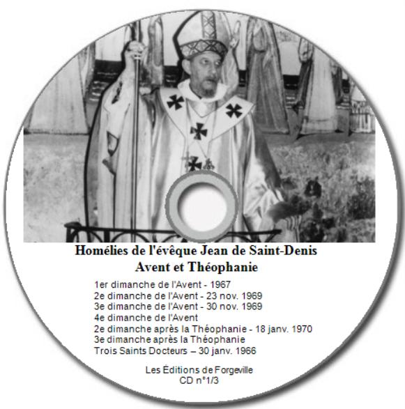 Homélies CD n°1/3