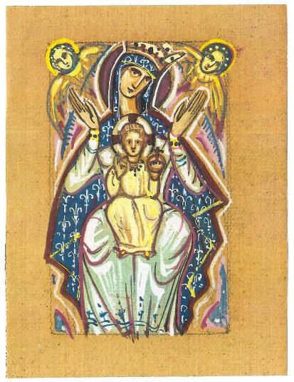 Mère de Dieu diptyque