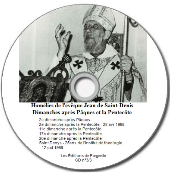 Homélies CD n°3/3