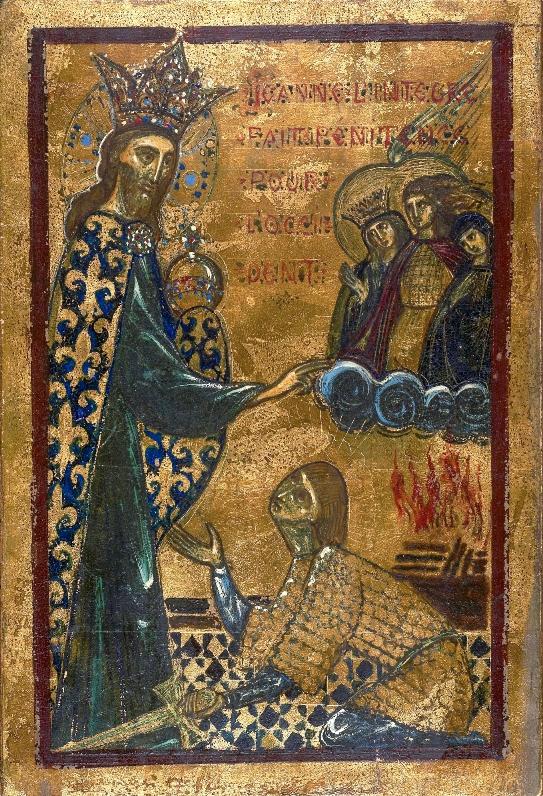 Christ bénissant Jeanne d'Arc