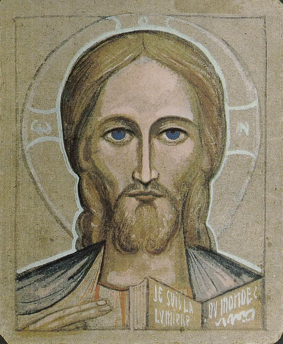 Christ aux yeux bleus