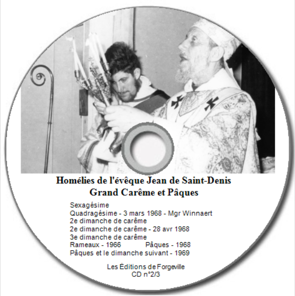 Homélies CD n°2/3