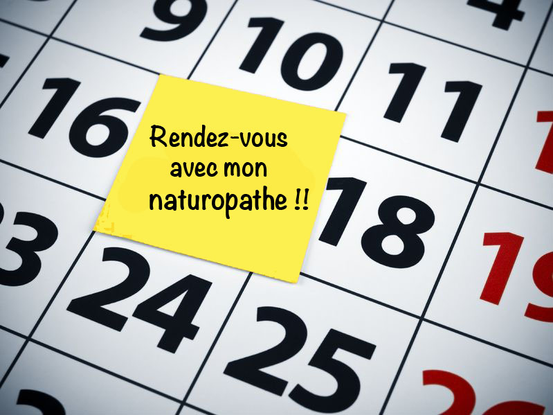RESERVATION SOIN CABINET DE NATUROPATHIE