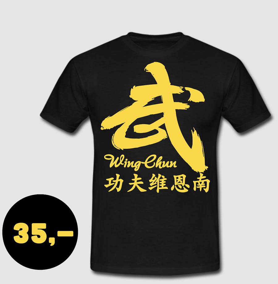 WingChun Classic Shirt #3