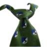 Corbata corporativa verde escudo