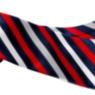 Nueva corbata corporativa diagonal