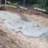 Fundament mit Stahlbewehrung