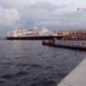 Vista de un Crucero en La Habana