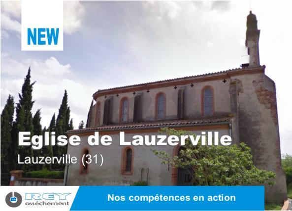 Tratement de l'humidité à Lauzerville
