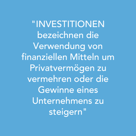 Investitionen im BGM