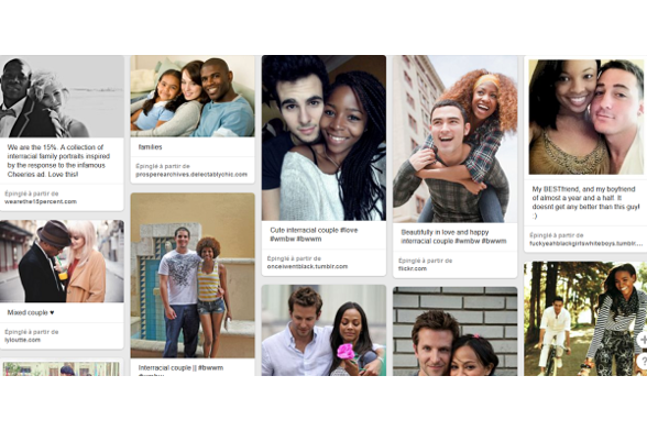 Pinterest couple mixte