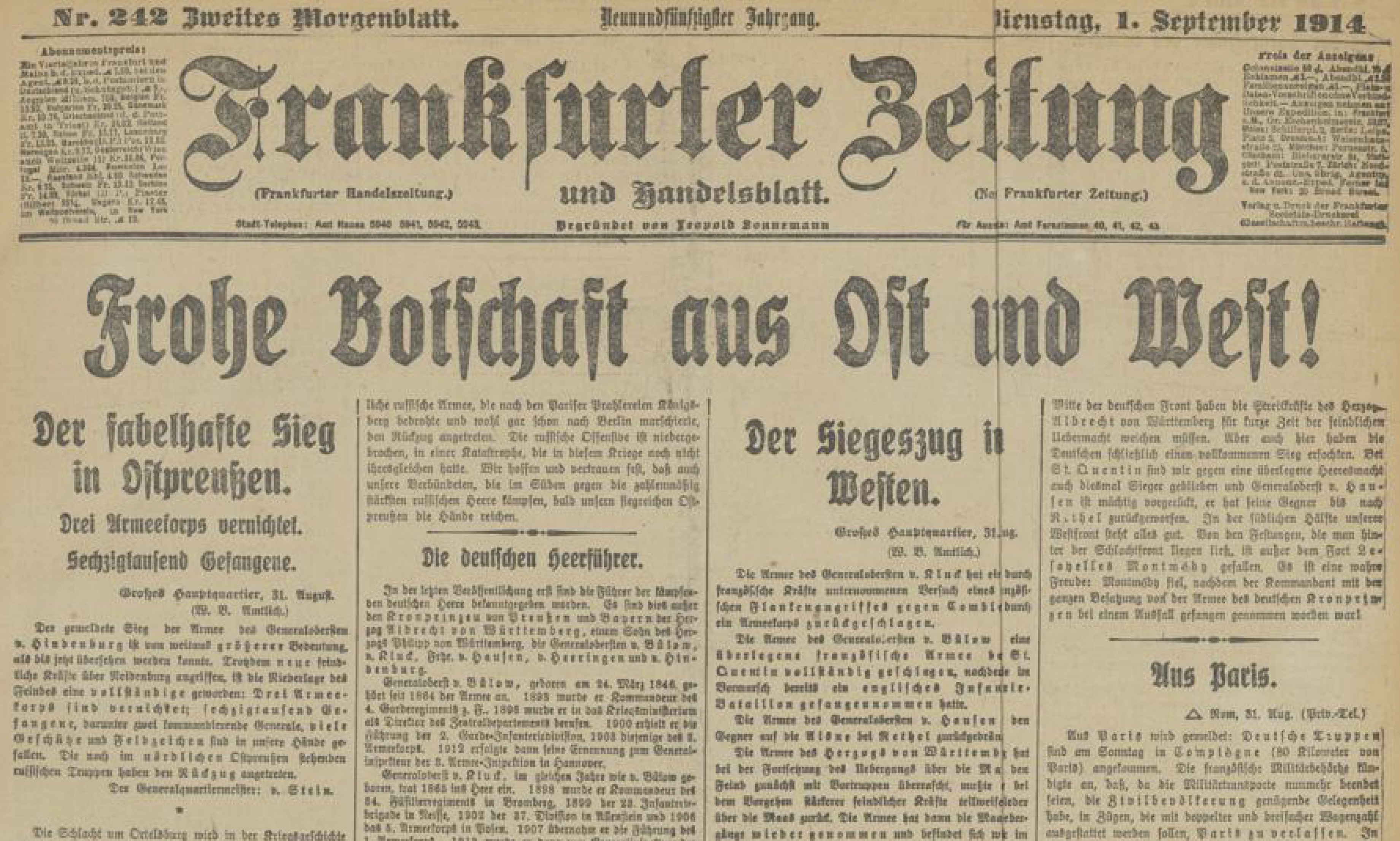 01.09.1914 2. Morgenblatt